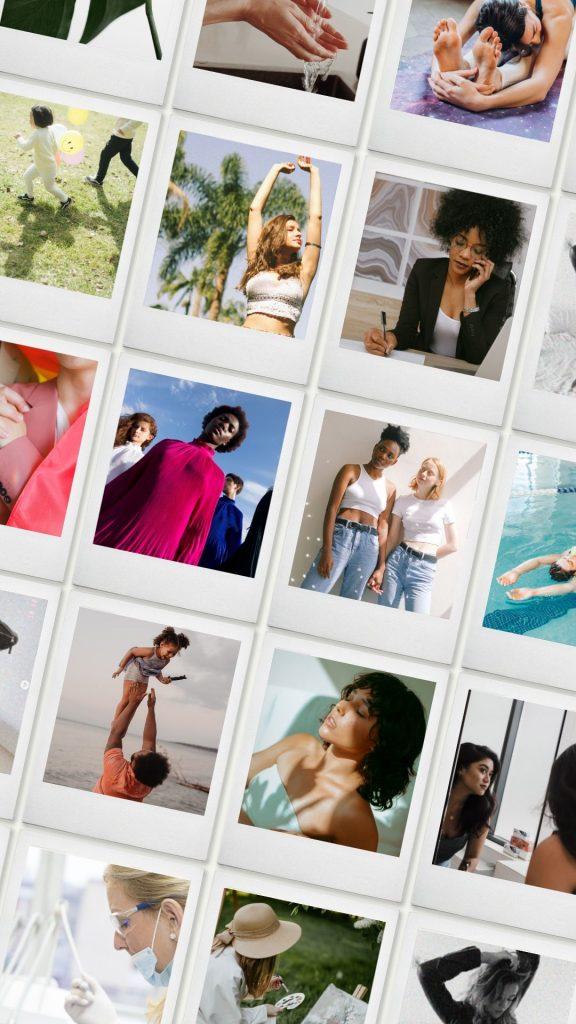 castings modelos para fotografía banco imágenes